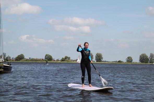 Stand up paddle - outdoor activiteiten in Friesland - Ottenhome Heeg 3