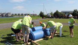 Vlotbouwen - Outdooractiviteiten in Friesland - Ottenhome Heeg Events