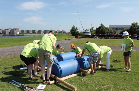 Vlotbouwen - Outdooractiviteiten in Friesland - Ottenhome Heeg Events